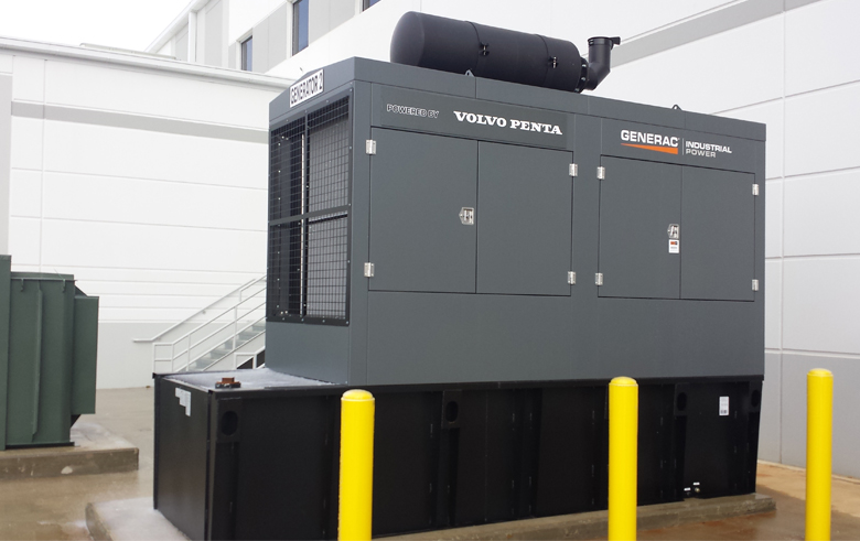 Industrial, generac, backup power