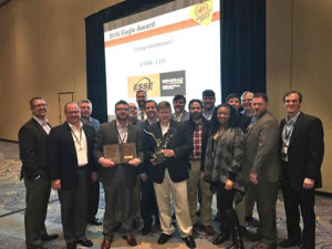Energy Systems Southeast receives the Eagle Award