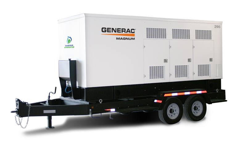 gaseous mobile generator