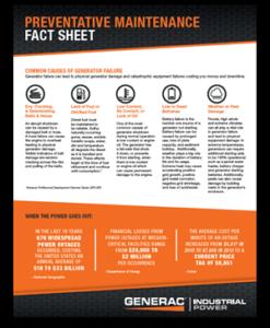Preventative Maintenace Fact Sheet